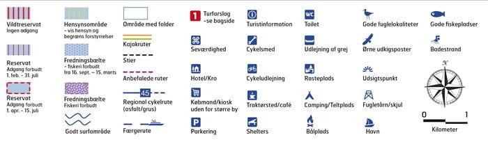 Signaturer til Odense Fjord kort
